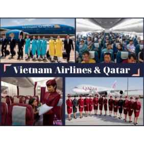 SO SÁNH TOUR DU LỊCH NGA BAY VIETNAM AIRLINES VÀ BAY QATAR