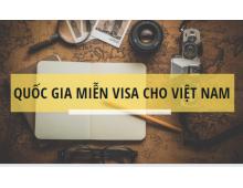 Update danh sách các Quốc gia và vùng lãnh thổ miễn Visa cho người Việt Nam 2019