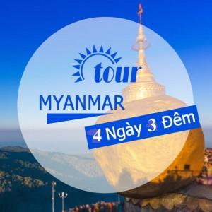 MYANMAR XỨ SỞ CHÙA VÀNG: YANGON – KYAIKHTIYO – BAGO - YANGON
