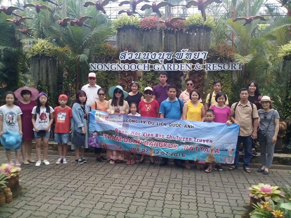 Tour du lịch Thái Lan 5 ngày 4 đêm 2017 bay Nok air